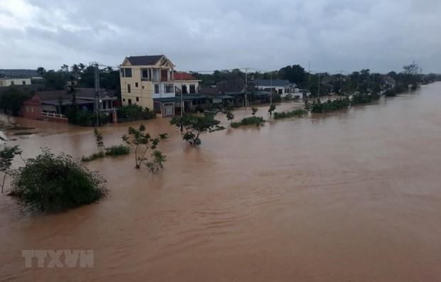 澳大利亚和瑞士政府向越南中部洪灾灾民提供人道主义援助 hinh anh 1