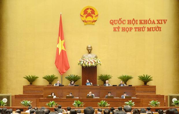 越南第十四届国会第10次会议公报(第十号) hinh anh 1