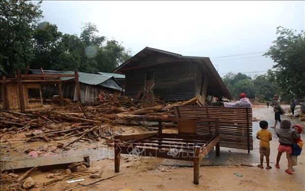 越南政府颁布救助决议 为自然灾害造成房屋损失的灾民提供援助 hinh anh 1