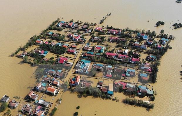 联合国秘书长和斯里兰卡外长就越南中部遭受洪涝灾害向越南领导人致慰问电 hinh anh 1