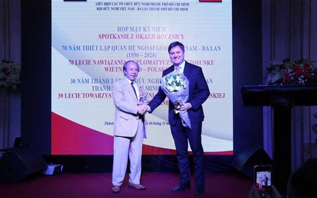越南与波兰的关系不断得到巩固和发展 hinh anh 1