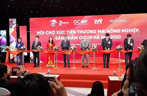 努力将越南农产品打入永旺超市分销系统 hinh anh 1