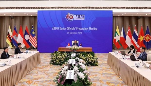 2020年东盟年: 东盟高官会议预备会在河内召开 hinh anh 1