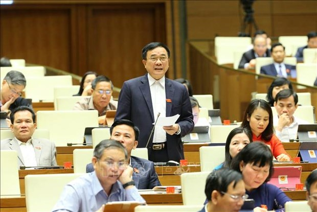 第十四届国会第十次会议:为生产经营活动化解困难 促进经济恢复发展 hinh anh 3
