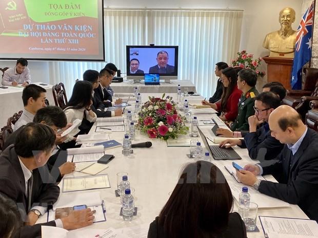 旅居澳大利亚越南人为越共十三大文件草案提出意见 hinh anh 1