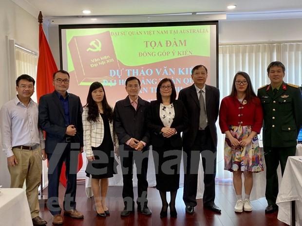 旅居澳大利亚越南人为越共十三大文件草案提出意见 hinh anh 2