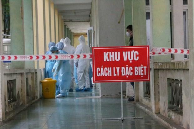 10日上午越南新增1例境外输入性新冠肺炎确诊病例 hinh anh 1