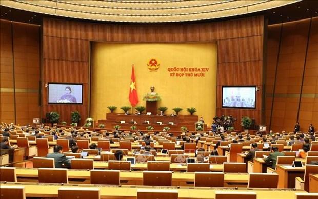 国会第十次会议:专题询问和回答询问活动充分反应国家5年来的变化 hinh anh 1