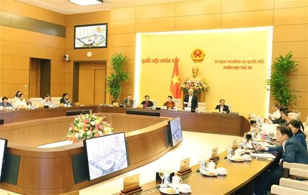 越南国会常务委员会召开第五十次会议 hinh anh 1