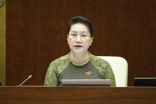 国会第十次会议:专题询问和回答询问活动充分反应国家5年来的变化 hinh anh 2