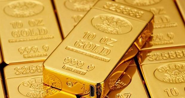 11日上午越南国内黄金价格每两下调50万越盾 hinh anh 1
