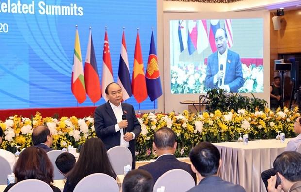 越南政府总理阮春福视察第37届东盟峰会的筹备工作 hinh anh 1