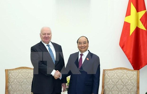 越南政府总理阮春福:推动越俄贸易额早日实现100亿美元的目标 hinh anh 1