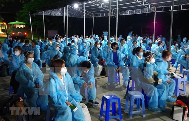 新冠肺炎疫情:将在俄罗斯和卡塔尔滞留的越南公民接回国 hinh anh 1