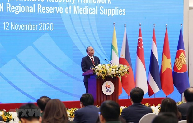 越南为地区医疗物资储备库提供总额达500万美元的医疗物资捐助 hinh anh 1