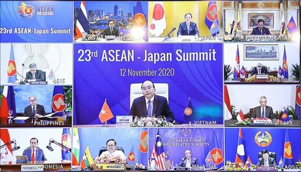 ASEAN 2020:泰国提出东盟与日本开展合作领域 印尼提出促进东盟和基本经济复苏的措施 hinh anh 1