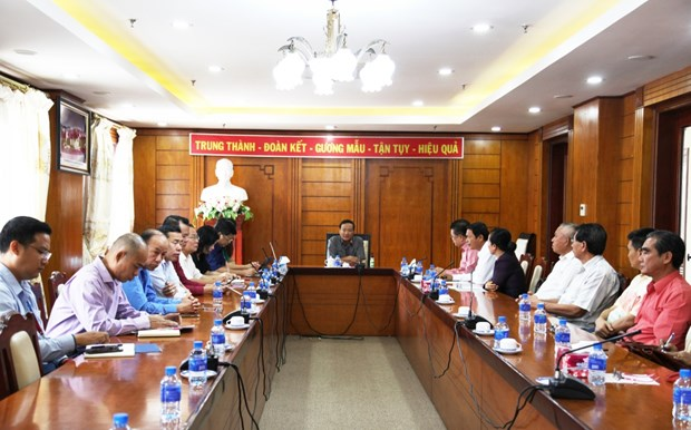 旅居老挝越南人为越共十三大文件草案提出意见 hinh anh 1