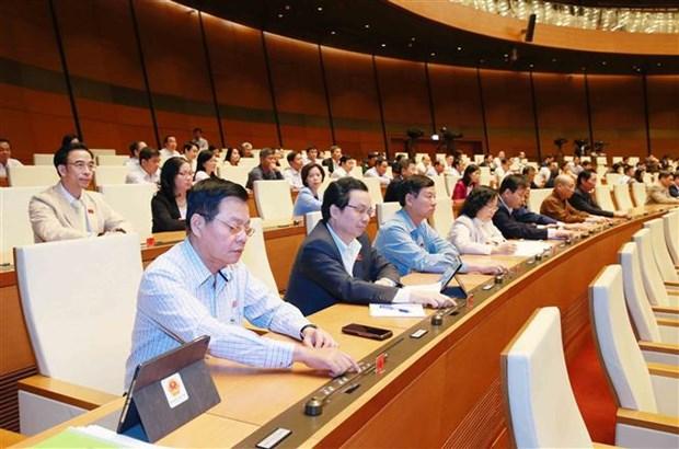 越南第十四届国会第十次会议批准任命职务名单 hinh anh 1