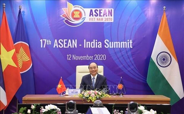 ASEAN 2020:印度优先加强与东盟的互联互通 hinh anh 1