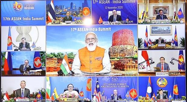 ASEAN 2020:印度强调东盟是向东政策的核心 hinh anh 1