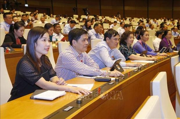 越南第十四届国会第十次会议新闻公报(第十六号) hinh anh 1