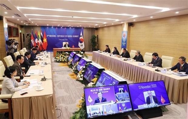 ASEAN 2020:把湄公河流域国家与韩国合作提升为致力于人民繁荣与和平的战略伙伴关系 hinh anh 1