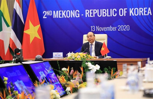 ASEAN 2020:把湄公河流域国家与韩国合作提升为致力于人民繁荣与和平的战略伙伴关系 hinh anh 2