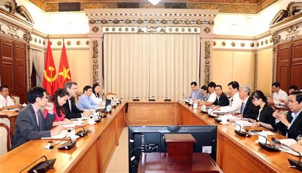 越南胡志明市加强与亚洲开发银行的合作 hinh anh 1