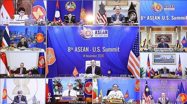 第8次东盟-美国领导人会议:美国是东盟重要的经济伙伴和发展伙伴 hinh anh 1