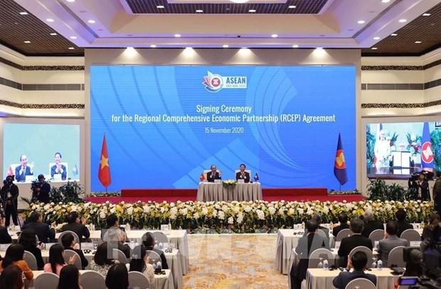 ASEAN 2020:各成员国强调RCEP的意义 hinh anh 1