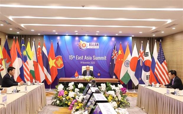 ASEAN 2020: 第15届东亚峰会召开 hinh anh 1
