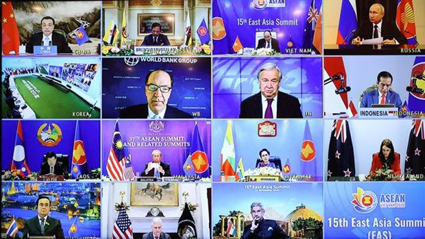 ASEAN 2020: 第15届东亚峰会召开 hinh anh 2