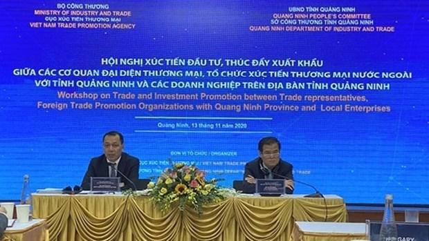 越南广宁省促进投资推进出口 hinh anh 1
