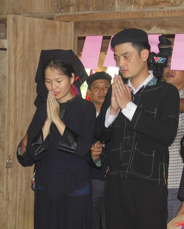 越南老街省侬族同胞的婚俗 hinh anh 1