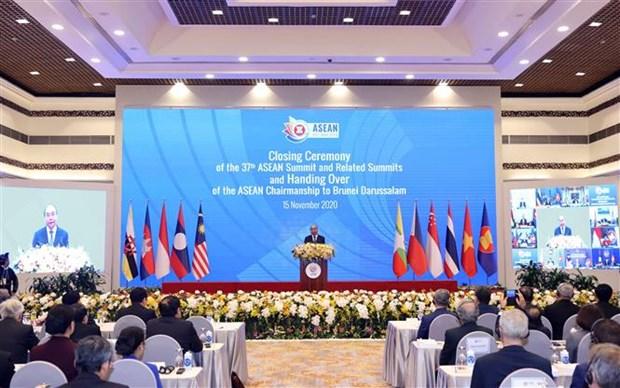 ASEAN 2020:彰显团结、自强的力量和灵活适应各种挑战的能力 hinh anh 1
