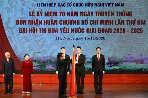 越南友好组织联合会为越南人民和各国人民搭建和平友好的桥梁 hinh anh 1