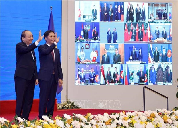 外国媒体对2020东盟轮值主席国--越南印象深刻 hinh anh 1