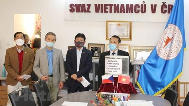 旅居捷克越南人继续肯定其在所在国的地位 hinh anh 1