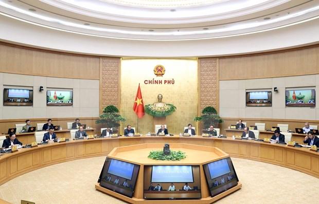 越南政府2020年10月份例行会议决议:继续集中开展搜寻救难任务 hinh anh 1
