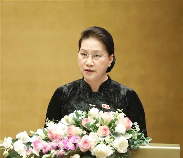 越南第十四届国会第十次会议闭幕 hinh anh 2