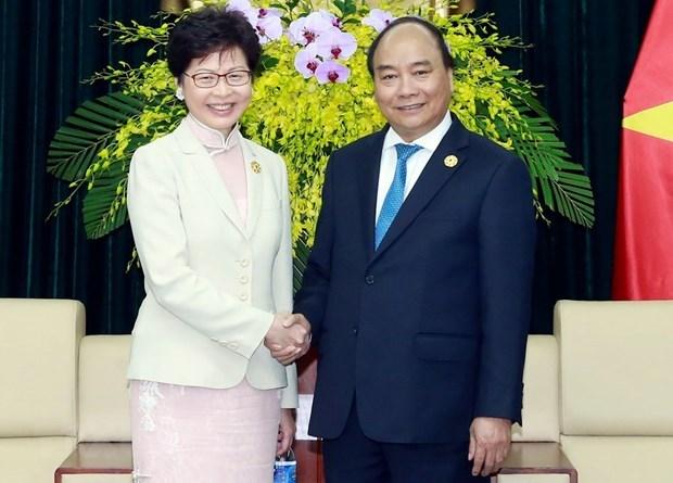 经贸合作是越南各地与中国香港关系中的最大亮点 hinh anh 1
