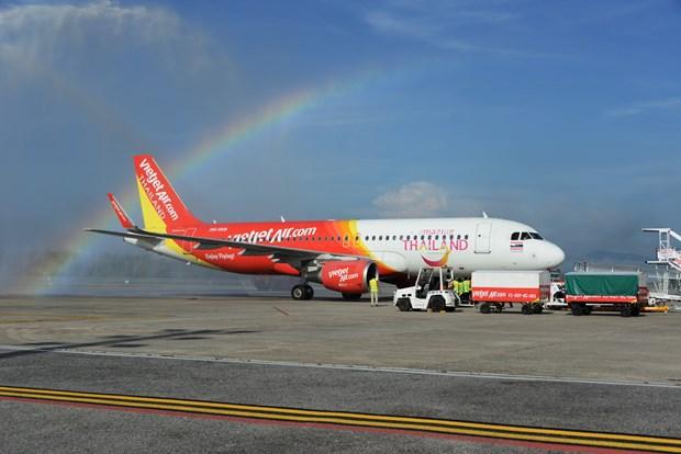 越捷航空公司收到新飞机 继续扩展在泰国的航线网络 hinh anh 1