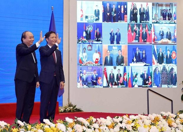 RCEP-国际和地区贸易的新状态 hinh anh 1
