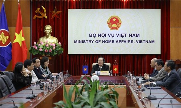 ASEAN 2020:第五次东盟与中日韩公共事务领导人会议以视频方式召开 hinh anh 1