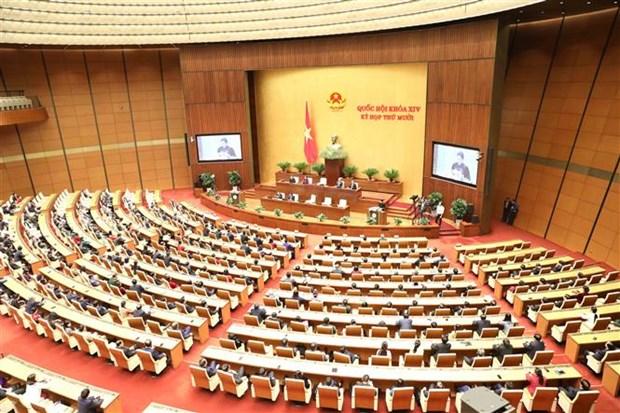 越南第十四届国会第十次会议公报(第十八号) hinh anh 1