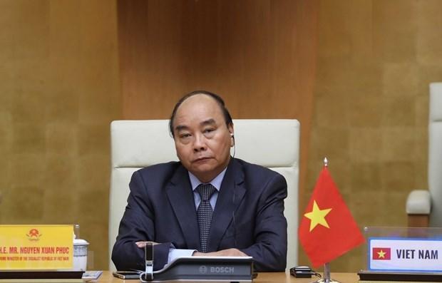 越南政府总理阮春福将出席以视频形式召开的二十国集团峰会 hinh anh 1