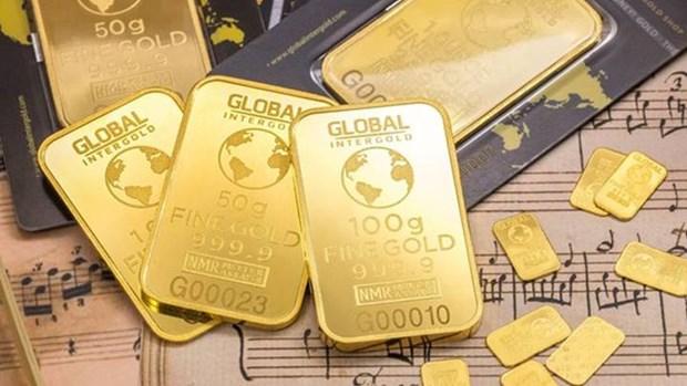 19日上午越南国内黄金价格下降 每两接近5600万越盾 hinh anh 1