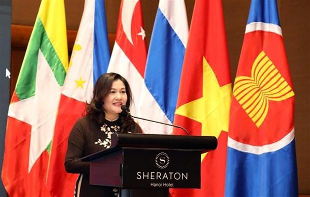 ASEAN 2020:维护东盟妇女和儿童的合法权益 hinh anh 1
