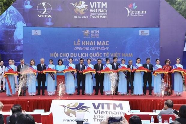 2020年越南最具规模国际旅游展正式开幕 hinh anh 2