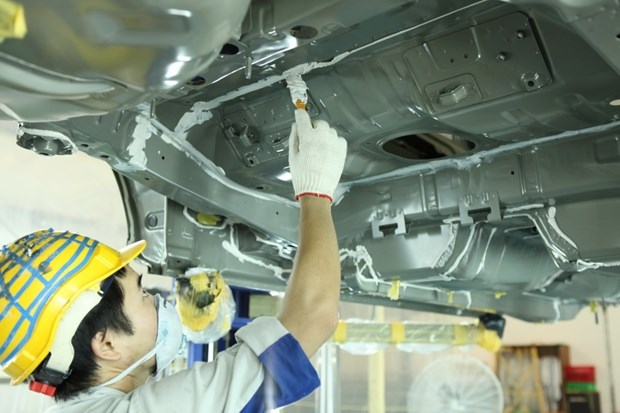 越南企业努力发展辅助工业 hinh anh 1